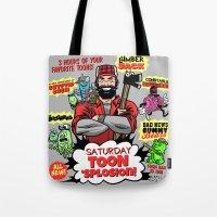 Saturday TOON 'Splosion! Tote Bag