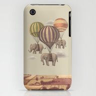 Flight Of The Elephants  iPhone (3g, 3gs) Slim Case
