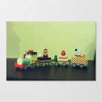 Train to Childhood Canvas Print