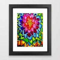 Bouquet 1  Framed Art Print