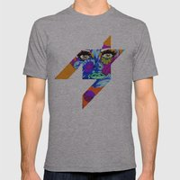 Flowers between your teeth Mens Fitted Tee Athletic Grey SMALL