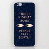 Quiet Zone iPhone & iPod Skin