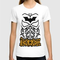 The Lego Knight Rises Womens Fitted Tee White SMALL