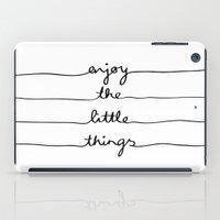 Little Things iPad Case