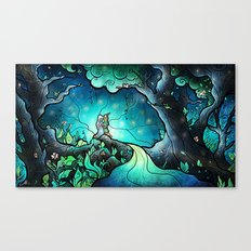 Love Goes On And On Canvas Print