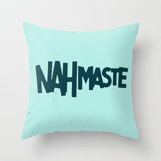 Nahmaste Throw Pillow