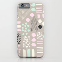 Pastel Tribal Patchwork iPhone 6 Slim Case
