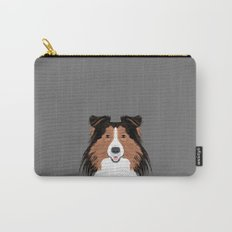 Jordan - Shetland Sheep Dog gifts for sheltie owners and dog people gift ideas perfect dog gifts Carry-All Pouch