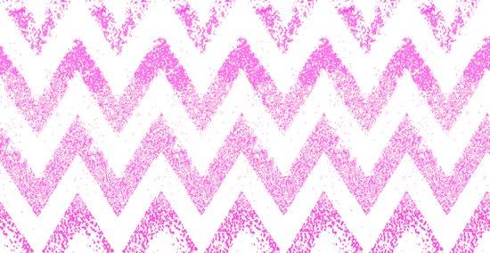 sparkly pink chevron Art Print
