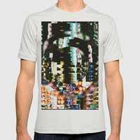 The Interference Mens Fitted Tee Silver SMALL