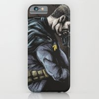 iPhone & iPod Case featuring Brooding Batcave by Dave Franciosa