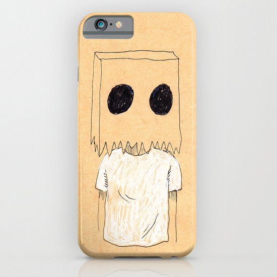 Paper Bag Boy iPhone & iPod Case