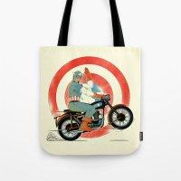 Cap Ride. Tote Bag
