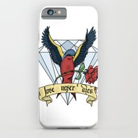 iPhone & iPod Case featuring Love Never Dies swallow by Dario Olibet