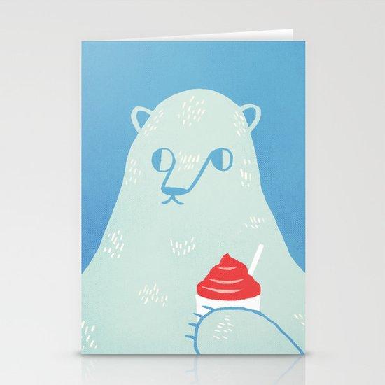 Polar Beverage Stationery Card