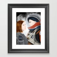 Don't Tell Anyone I Li… Framed Art Print