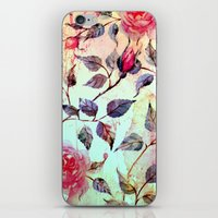 Roses And Splash 2 iPhone & iPod Skin