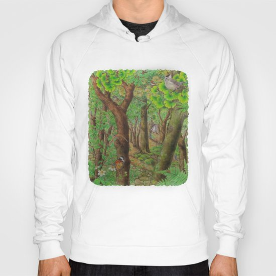 A Day of Forest (2). (sunshine forest) Hoody