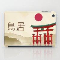 Torii Gate - Painting iPad Case