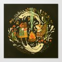 Animal Chants & Forest Whispers Canvas Print