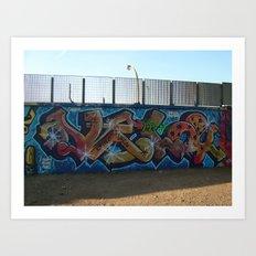 tornado vela Art Print