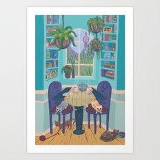 Cozy Nook Art Print