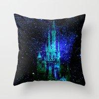 Dream Castle. Fantasy Di… Throw Pillow