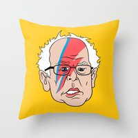 Bowie Sanders Throw Pillow