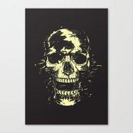 Scream (gold) Canvas Print
