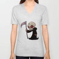 Little Reaper Unisex V-Neck