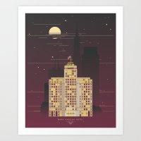 Mark Hopkins Hotel Art Print