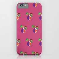 iPhone & iPod Case featuring Fruit: Fig by Christopher Dina