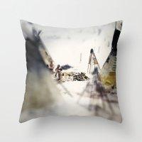 Tom Feiler Aboriginal Mo… Throw Pillow