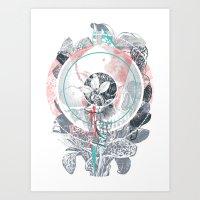 /blo͞om/ Art Print