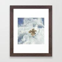 Winter Flower Framed Art Print