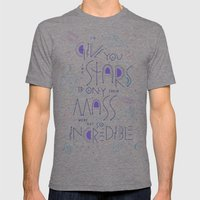 Haikuglyphics - Dear Someone Mens Fitted Tee Tri-Grey SMALL