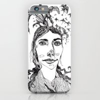 iPhone & iPod Case featuring Pj Harvey by Sára Szabó