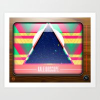 Kaleidoscope TV Version … Art Print