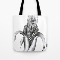 Chewbacca banana Tote Bag