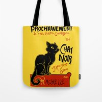 Chat Noir Monsieur Steve Tote Bag