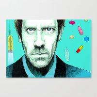 Hallucinogenic House Canvas Print