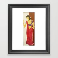 Vaseegaram Framed Art Print