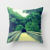Into the Adventure Throw Pillow