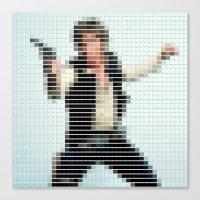 Han Solo - StarWars - Pantone Swatch Art Canvas Print