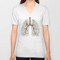 Breathe! Unisex V-Neck