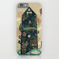 iPhone & iPod Case featuring The Ominous and Ghastly Mont Noir by Hector Mansilla
