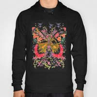 PAINTED BUTTERFLY Hoody