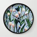 Waiting on the Blooming - a Tulip Pattern Wall Clock