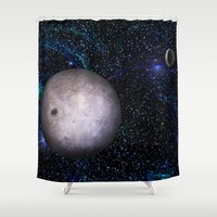 View From The Dark Side Shower Curtain