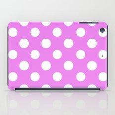 Polka Dots (White/Violet) iPad Case